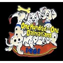 Countdown to the Millennium Series Pin #62 (101 Dalmatians)