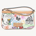 Dooney & Bourke Disney Sketch Wristlet