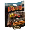 Star Tours Disney Racers Darth Maul Die cast metal body race car 1/64 scale - Disney Star Wars Weekends 2014
