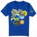 Disney Animal Kingdoms Expedition Everest Patches Youth T-Shirt (Tee, Tshirt or T shirt)