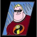 Walt Disney World - Incredibles Lanyard Starter Set - Mr. Incredible - Bob Pin