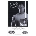 James Arnold Taylor (JAT) the voice of Obi-Wan Kanobi & Plo Koon Presigned Official Star Wars Weekends 2012 Celebrity Collector Photo