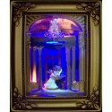 Olszewski Studios Gallery Of Light Box - Disney ~ Beauty And The Beast in One Wonderous Waltz