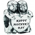 """Disney Pandora From Us Children """"Happy Mothers Day"""" Sterling Silver Charm - Mothers Day Collection 2015"""