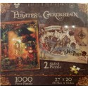 Disney Pirates of the Caribbean Double Sided 1000 Piece Puzzle