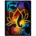 Rivers Of Light Fleece Throw Blanket ~ Disney Animal Kingdom