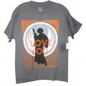 "Disney Star Wars Princess Leia ""I Love You"" Adult T-Shirt (Tshirt, T shirt or Tee)"