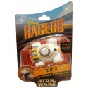 Star Wars The Force Awakens Disney Racer BB-8 (BB8) die cast metal body race car 1/64 scale