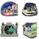 Official Disney Star Wars Weekend 2012 Star Wars in the Park Booster Pin Set Limited Time Edition