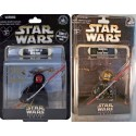 "RARE ~ Triple autographed 2 Action Figure set signed by Disney artists at Star Wars Weekend 2012 ~ ""Donald Duck as Savage Opress"" LE 2012 & Sneak Preview ""Donald Duck as Darth Maul"" LE 600 exclusive event packaging"