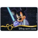 Star Wars Gift Card with Mickey Mouse as Luke Skywalker ~ Disney Star Wars Weekends 2013