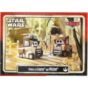 """Disney Pixar """"Cars"""" as LucasFilms """"Star Wars"""" Character Pitties as Ewoks Logray and Wicket Trading Card Series 3 for Star Wars Weekends 2015"""