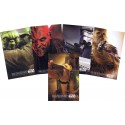 Disney Star Wars Weekends 2015 Full Set of 5 Passholder Posters Event Exclusive