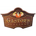 Gaston's Tavern Sign from Fantasyland in Disneys Magic Kingdom