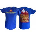 Disney Animal Kingdoms Expedition Everest Blue Mountain Rescue T-Shirt (Tee, Tshirt or T shirt)