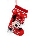 Disney Minnie Mouse Plush Christmas Stocking