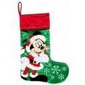 Disney Santa Mickey Mouse Christmas Stocking