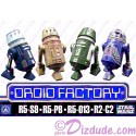 4 Droid set from ~The Clone Wars~  Disney World Astromech DROID FACTORY Action Figures 3¾ Inch 4 Droid Multi-Pack with R5-S9 R5-P8 R5-013 & R2-C2