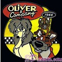 Countdown to the Millennium Series Pin #26 Oliver and Company (Oliver / Dodger / Rita)