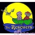 Countdown to the Millennium Series Pin #35 (The Rescuers - Bernard, Bianca & Evinrude)