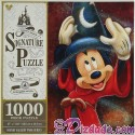 Sorcerer Mickey 1000 Piece Jigsaw Puzzle- Disney Signature Puzzle