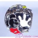"Disney Pandora ""Mickey Mania"" Sterling Silver Charm - Disney World Parks Exclusive"