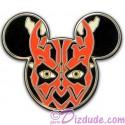 Disney Star Wars Mickey Mouse Icon - Darth Maul Pin