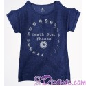 Death Star Phases Ladies Top (T-Shirt, Tshirt, T shirt or Tee) - Disney's Star Wars