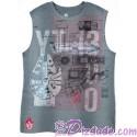 Disney Star Wars Millennium Falcon Sleeveless T-shirt (Tshirt, T shirt or Tee)