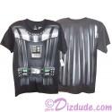 Disney Star Wars Darth Vader Armour Adult T-Shirt (Tshirt, T shirt or Tee) Printed Front & Back