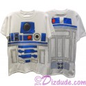 Disney Star Wars: R2-D2 Adult T-Shirt (Tshirt, T shirt or Tee) Printed Front & Back