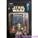Star Wars Endor Mickey Mouse as Luke Skywalker and Chip & Dale as Ewoks Star Tours Action Figure Set Individually Numbered ~ Disney Star Wars Weekends 2013 ~ Limited Edition 1983 #0532 or lower
