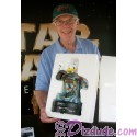 Autographed by Jeremy Bulloch (Boba Fett) Disney Star Wars Weekends Donald Duck as Boba Fett Medium Big Fig with pin LE 1977