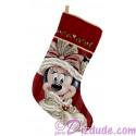 Disney Victorian Minnie Tapestry Christmas Stocking