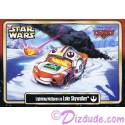Star Wars Celebration VI (C6) Lightning McQueen as Luke Skywalker Star CarsTrading Card