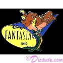 Countdown to the Millennium Series Pin #50 (Fantasia / Ben Ali Gator / Hyacinth Hippo)