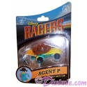 Agent P Disney Racer Die-Cast Metal Body Race Car 1/64 Scale
