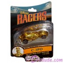 Star Tours Disney Racers C-3PO Die cast metal body race car 1/64 scale - Disney Star Wars Weekends 2014