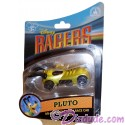 Pluto Disney Racer Die-Cast Metal Body Race Car 1/64 Scale