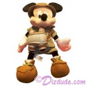 12 inch Safari Mickey Mouse Plush ~ Disney Animal Kingdom