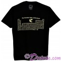 Periodic Table of Dinosaur Adult T-shirt (Tee, Tshirt or T shirt) - Disney Animal Kingdom Dino Institute