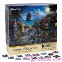 Disney's Pirates of the Caribbean: The Curse of the Black Pearl Jigsaw Puzzle 1000 Piece by Thomas Kinkade