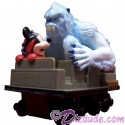 Disney Animal Kingdoms Expedition Everest Pull Back Action Toy Train With the Yeti And Mickey Mouse