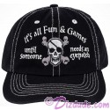 Disney's Pirates of the Caribbean Its All Fun & Games ... Until Someone Needs An Eyepatch Hat
