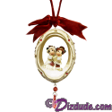 Disney Victorian Mickey And Minnie Mouse Ornament