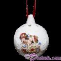 Disney Victorian Mickey & Minnie Christmas Tree Ornament