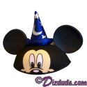 Disney Mickey Mouse Ears Sorcerers Hat