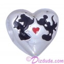 "Disney Pandora ""Mickey and Minnie Kiss"" Sterling Silver Charm"