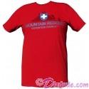 Disney Animal Kingdoms Expedition Everest Red Mountain Rescue T-Shirt (Tee, Tshirt or T shirt)