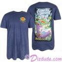 Blue Passholder Adult T-shirt (Tee, Tshirt or T shirt) - Disney Epcot International Flower & Garden Festival 2018
